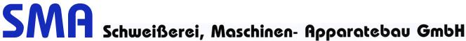 SMA Schweißerei, Maschinen- Apparatebau GmbH Logo